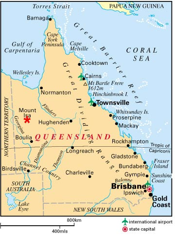 Carte Queensland
